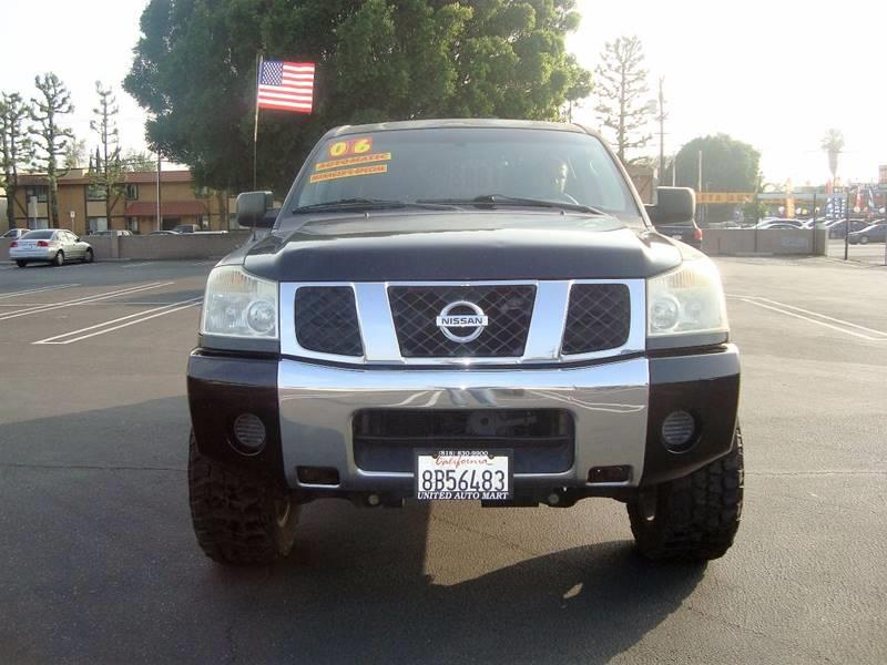 2006 Nissan Titan SE SB
