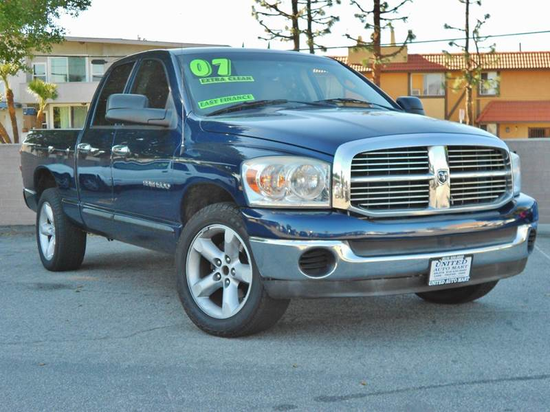 2007 dodge ram pickup 1500 slt 4dr quad cab lb in arleta ca united auto mart ca. Black Bedroom Furniture Sets. Home Design Ideas