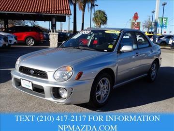 2003 Subaru Impreza for sale in San Antonio, TX