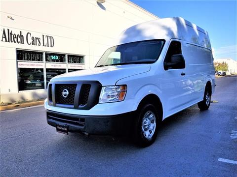2013 Nissan NV Cargo for sale in Chantilly, VA