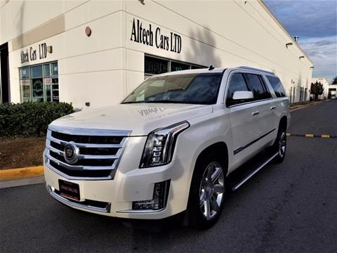 2015 Cadillac Escalade ESV for sale in Chantilly, VA