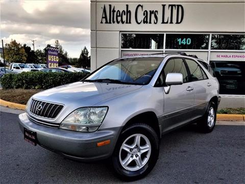 2002 Lexus RX 300 for sale in Chantilly, VA