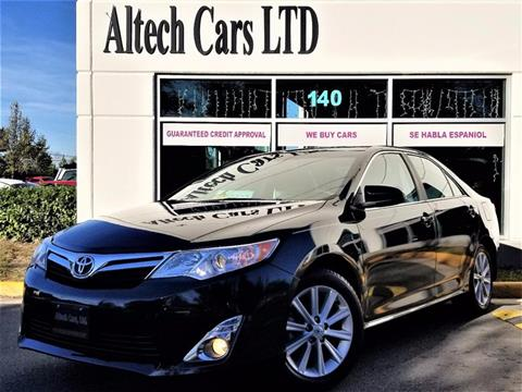 2012 Toyota Camry for sale in Chantilly, VA