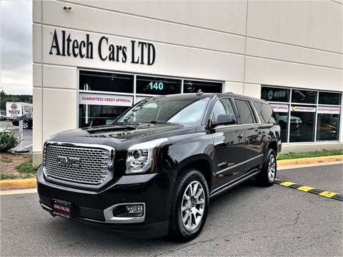 2015 GMC Yukon XL for sale in Chantilly, VA