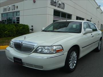 2005 Lincoln Town Car for sale in Chantilly, VA