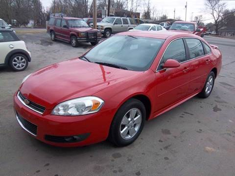 2011 Chevrolet Impala for sale at Nolley Auto Sales in Campbellsville KY