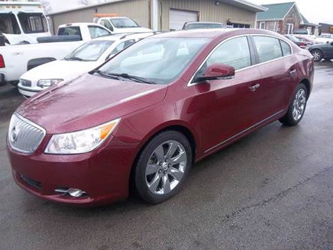 2010 Buick LaCrosse for sale at Nolley Auto Sales in Campbellsville KY