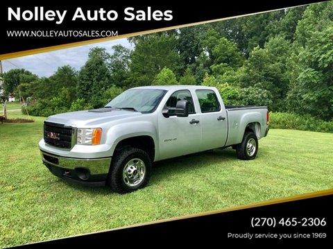 2013 GMC Sierra 2500HD for sale in Campbellsville, KY