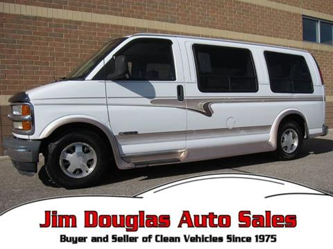 581c390d0b 2002 Chevrolet Express Cargo for sale in Pontiac