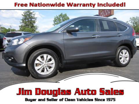 2013 Honda CR-V for sale at Jim Douglas Auto Sales in Pontiac MI