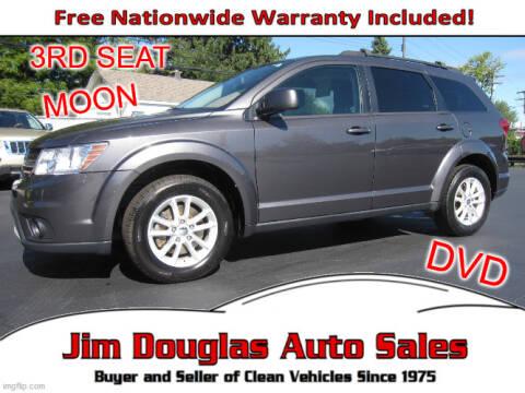 2014 Dodge Journey for sale at Jim Douglas Auto Sales in Pontiac MI