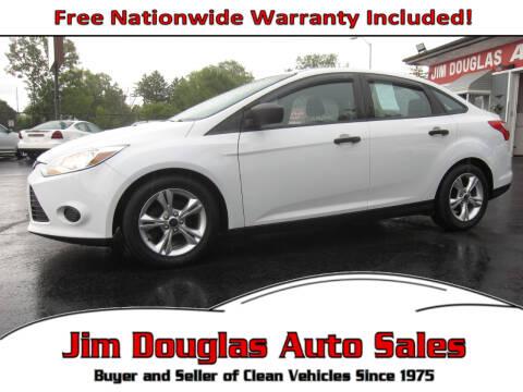 2014 Ford Focus for sale at Jim Douglas Auto Sales in Pontiac MI