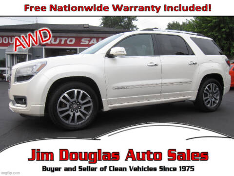2013 GMC Acadia for sale at Jim Douglas Auto Sales in Pontiac MI