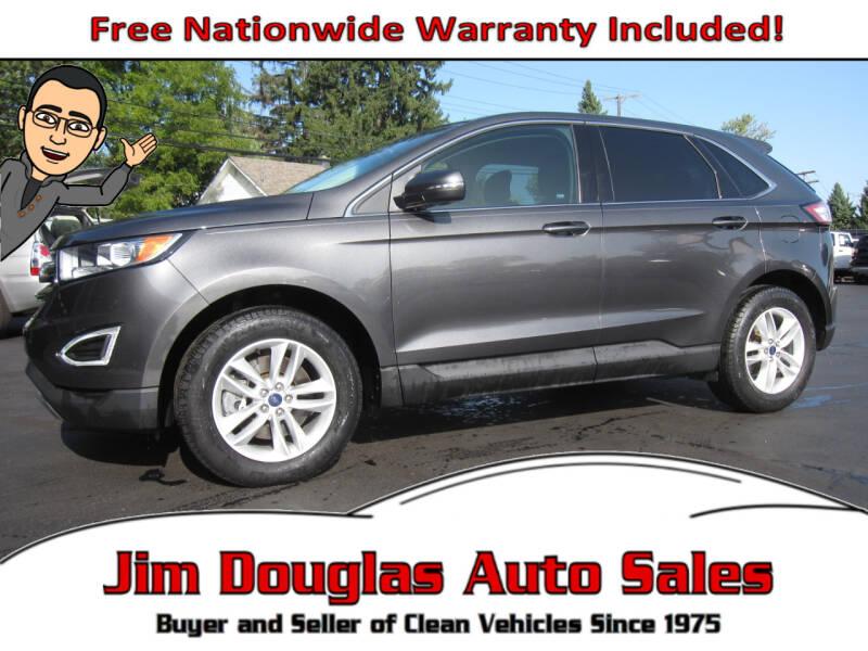 2015 Ford Edge for sale at Jim Douglas Auto Sales in Pontiac MI