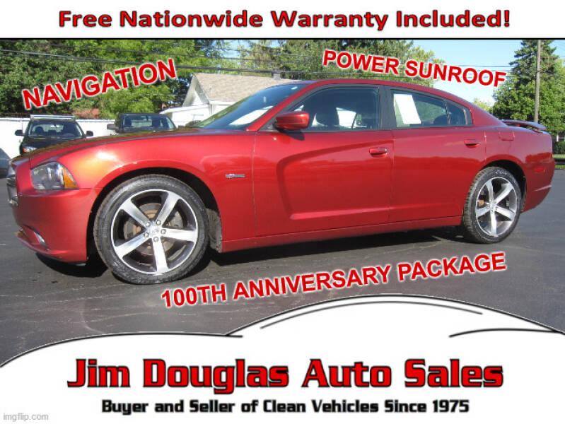 2014 Dodge Charger for sale at Jim Douglas Auto Sales in Pontiac MI
