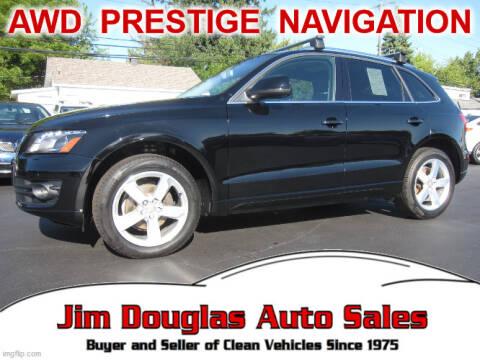 2010 Audi Q5 for sale at Jim Douglas Auto Sales in Pontiac MI