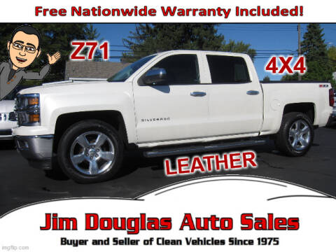 2014 Chevrolet Silverado 1500 for sale at Jim Douglas Auto Sales in Pontiac MI