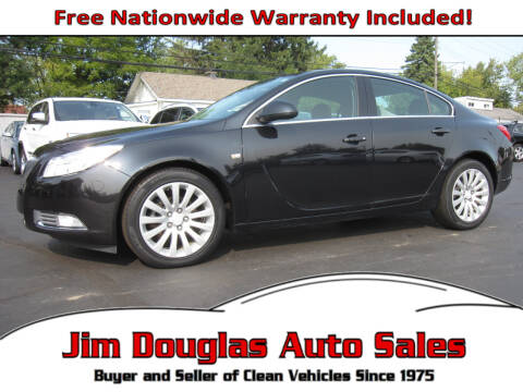 2011 Buick Regal for sale at Jim Douglas Auto Sales in Pontiac MI