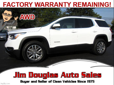 2018 GMC Acadia for sale at Jim Douglas Auto Sales in Pontiac MI