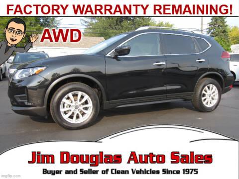 2019 Nissan Rogue for sale at Jim Douglas Auto Sales in Pontiac MI
