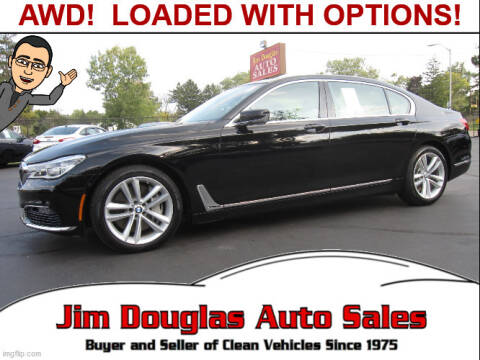 2016 BMW 7 Series for sale at Jim Douglas Auto Sales in Pontiac MI