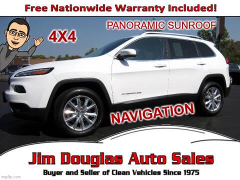 2015 Jeep Cherokee for sale at Jim Douglas Auto Sales in Pontiac MI