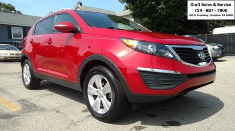 2011 Kia Sportage for sale at Graft Sales and Service Inc in Scottdale PA