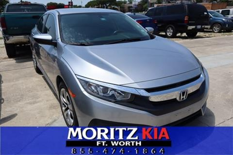 Honda Fort Worth >> 2016 Honda Civic For Sale In Fort Worth Tx