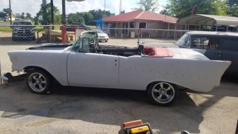 1957 Chevrolet Bel Air CV still have Hardtop for sale at COLLECTABLE-CARS LLC in Nacogdoches TX
