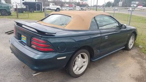1995 Ford Mustang for sale at COLLECTABLE-CARS LLC in Nacogdoches TX