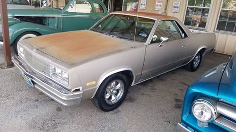 1984 Chevrolet El Camino for sale at COLLECTABLE-CARS LLC in Nacogdoches TX