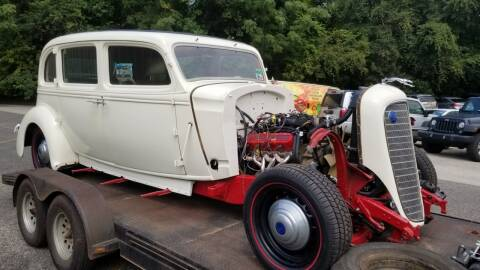 1936 Lincoln BRUNN aluminum body for sale at COLLECTABLE-CARS LLC - Classics & Collectables in Nacogdoches TX