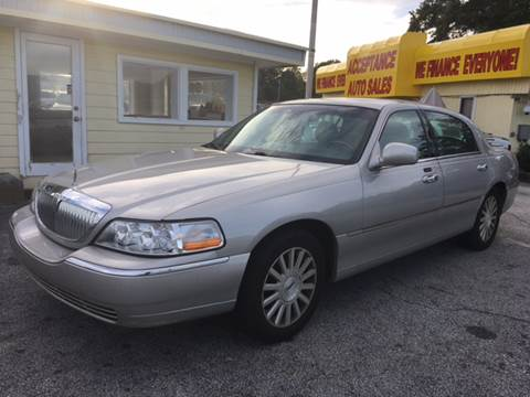 2003 Lincoln Town Car for sale in Lithia Springs, GA