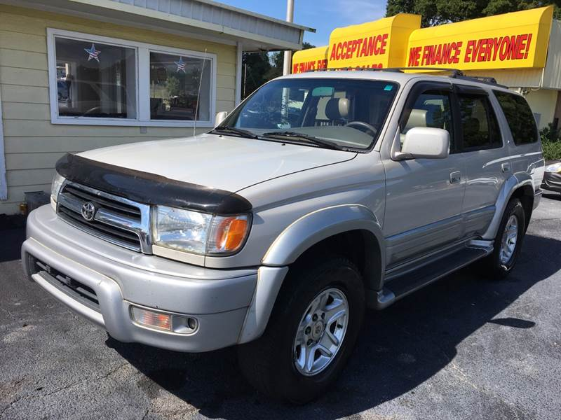 1999 Toyota 4Runner Limited 4dr SUV   Lithia Springs GA