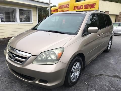 2006 Honda Odyssey for sale in Lithia Springs, GA
