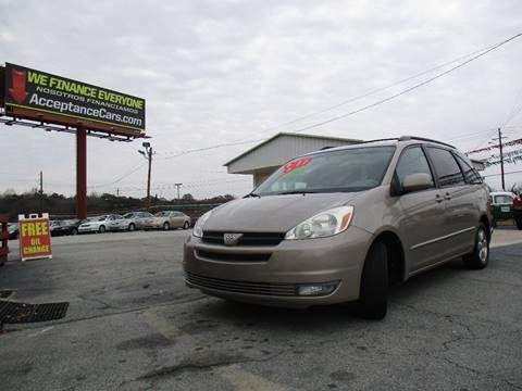 2004 Toyota Sienna for sale in Lithia Springs, GA