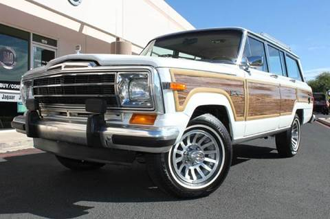 1988 Jeep Grand Wagoneer for sale in Scottsdale, AZ