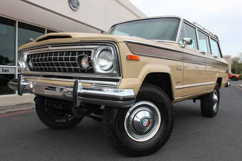 Jeep Wagoneer For Sale >> Jeep Wagoneer For Sale In Lewisville Tx Carsforsale Com