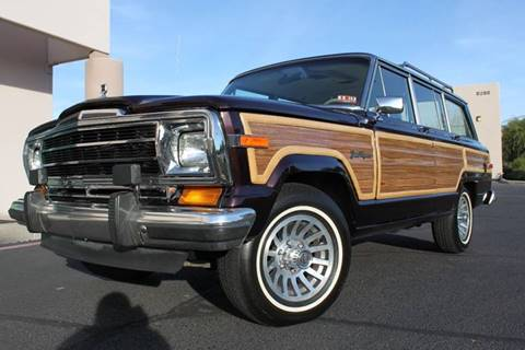 1990 Jeep Grand Wagoneer for sale in Scottsdale, AZ