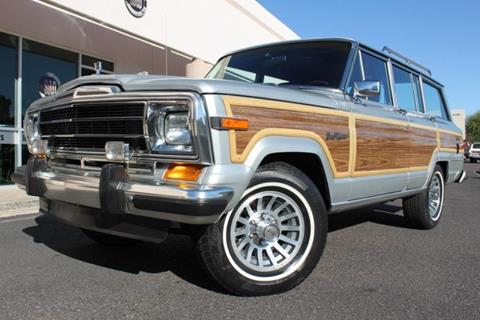 1989 Jeep Grand Wagoneer for sale in Scottsdale, AZ