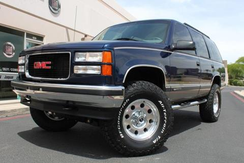 1999 GMC Yukon for sale in Scottsdale, AZ