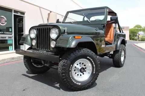 1983 Jeep CJ-7 for sale in Scottsdale, AZ