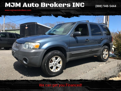 2005 Ford Escape XLT for sale at MJM Auto Brokers INC in Gloucester MA