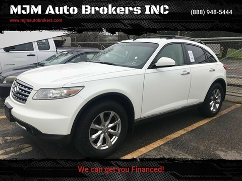 2008 Infiniti FX35 for sale at MJM Auto Brokers INC in Gloucester MA