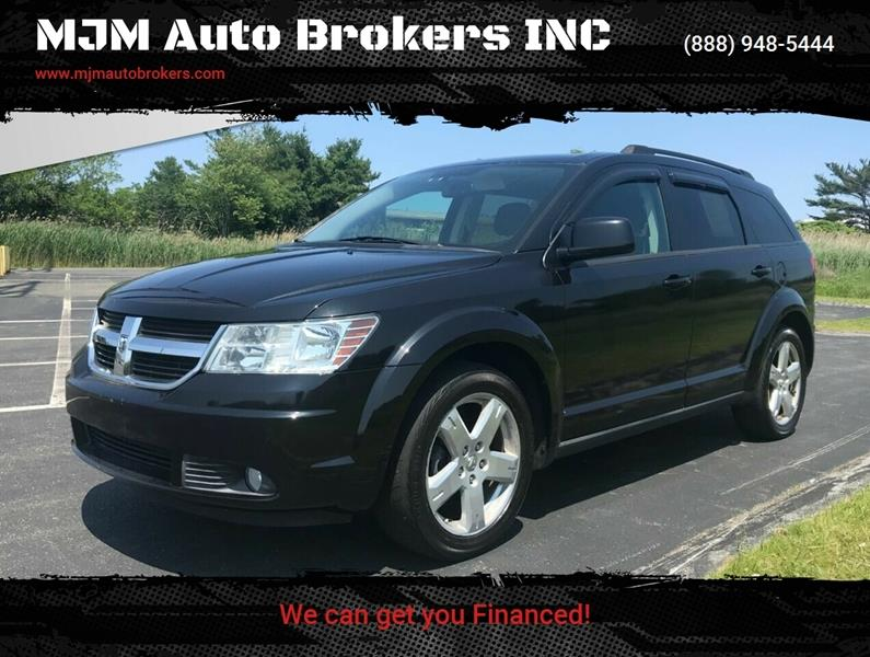 2010 Dodge Journey for sale at MJM Auto Brokers INC in Gloucester MA