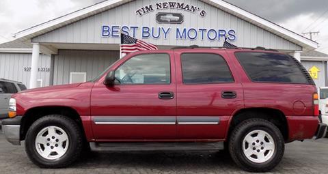2004 Chevrolet Tahoe for sale in Hillsboro, OH