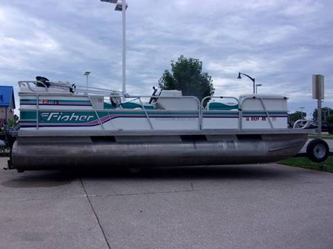 1994 Fisher Freedom 200 DLX Pontoon for sale in Fort Dodge, IA