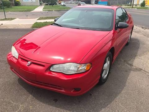 2003 Chevrolet Monte Carlo for sale in Detroit, MI
