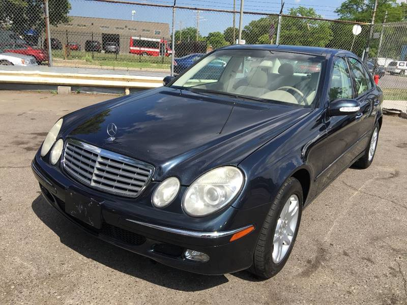 2003 Mercedes Benz E Class For Sale At L.A. Trading Co. In Detroit
