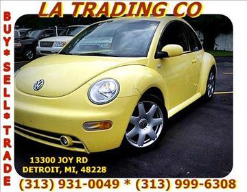 2001 Volkswagen New Beetle for sale in Detroit, MI